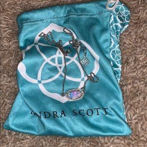 Kendra Scott opal necklace